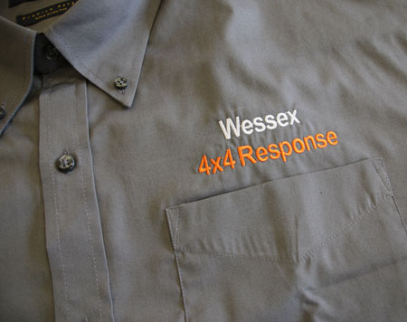 Wessex 4x4 Smart Shirt (Short Sleeve)
